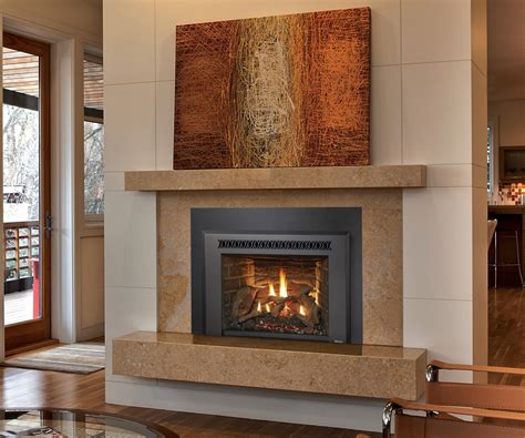 comfy gas inserts gas hearth home to splendent fireplace