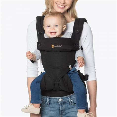 Baby Scots Baby Carrier 6 In 1 1 front facing baby carrier 360 black ergobaby