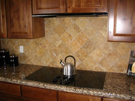 kitchen backsplash idea unique stone tile backsplash ideas put together to try out