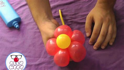 palloncini fiore ballonart tutorial 3 fiore a bracciale ollymess