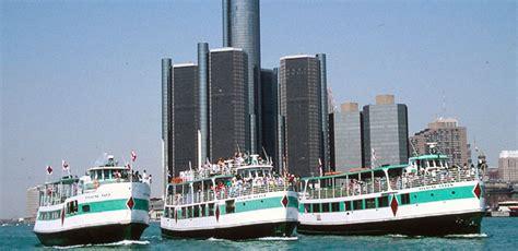detroit river boat tours detroit sightseeing tours cruise the detroit river