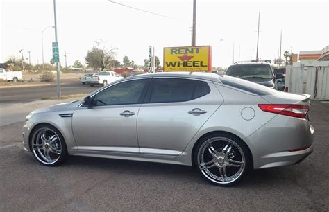 Kia Optima On Rims Kia Optima Rent A Wheel Rent A Tire