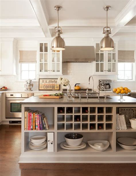 kitchen island open shelves storage ideas and tips within