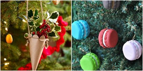 Handmade Tree Decorations - 27 easy ornaments how to make diy