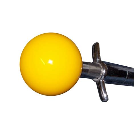 Yellow Shift Knob by Yellow Corvette 4 Speed Shift Knob
