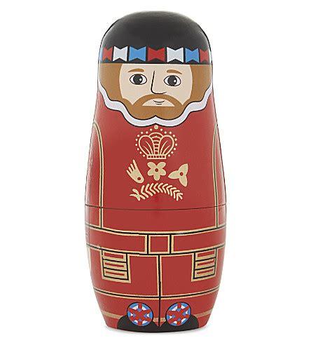 Wooden St Set st nicolas beefeater wooden matryoshka doll set