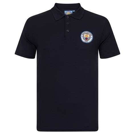 Polo Shirt Manchester City P02 manchester city football club official soccer gift mens crest polo shirt ebay
