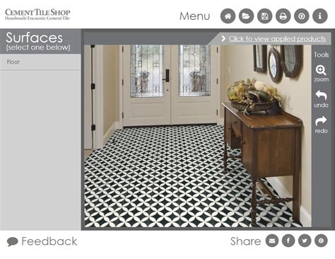 tile pattern visualizer kitchen backsplash cement tile shop blog
