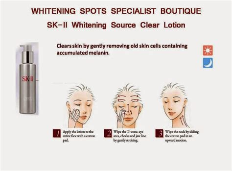 Sk Ii Whitening Source Clear Lotion fashion lifestyle travel