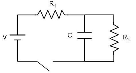 rc circuit with resistors homework and exercises rc parallel circuits physics stack exchange
