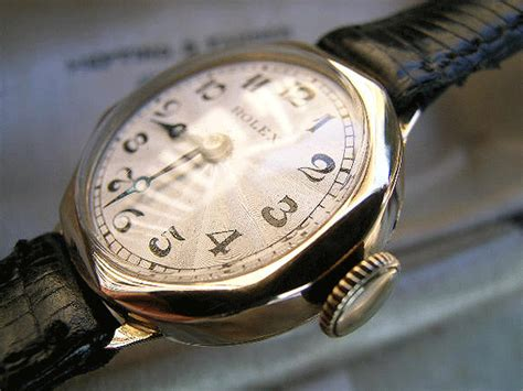 rolex gold with guilloche boxed 1935