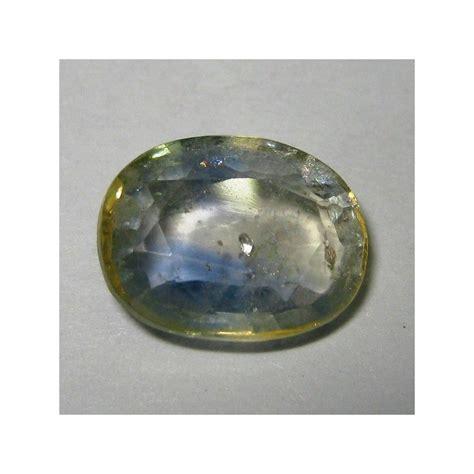 promo batu permata light bluish green sapphire 3 12 cts asli