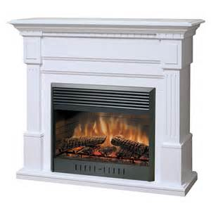 dimplex sussex electric fireplace white at hayneedle