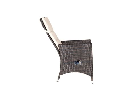 reclining dining chair kensington club 165cm rattan table with 8 reclining dining