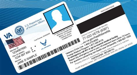 va cards health benefits home