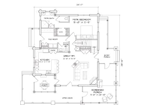 caribou log home floor plan by precision craft alderbrook log home floor plan