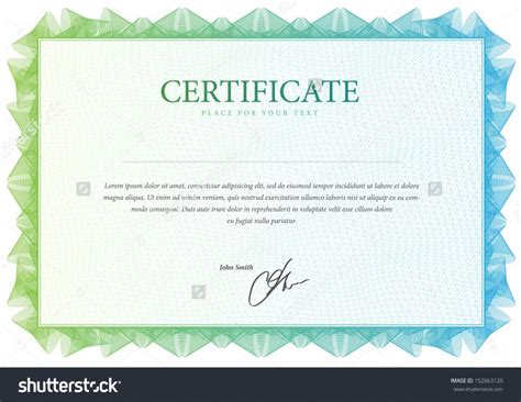 blank diploma templates certificate template 13 stock certificate templates