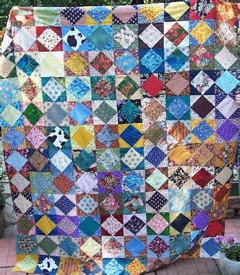 Square In A Square Quilt by Steel Scraps Fast Square In A Square Quilt
