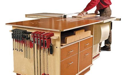 outfeed table finewoodworking
