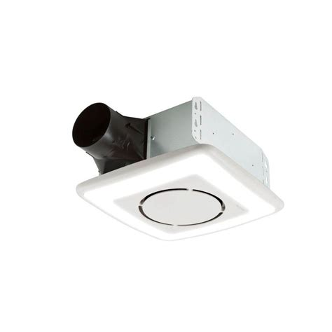nutone exhaust fan with light nutone invent series 110 cfm ceiling exhaust bath fan with