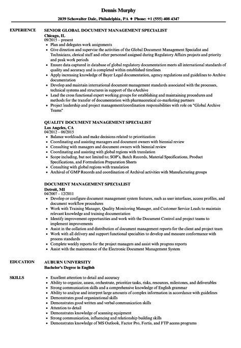 Records Management Specialist Cover Letter by Records Management Specialist Sle Resume Shipyard Welder Cover Letter