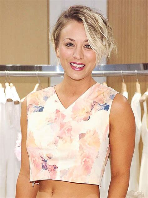 did kaley cuoco cut her hair 12 best kaley cuoco images on pinterest beautiful women