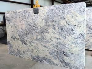 Giallo Ornamental With White Cabinets White Ice Granite Slab 723
