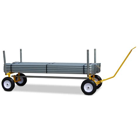 Wayfair Home Decor 30 Quot X 96 Quot X 24 Quot Heavy Duty Lumber And Pipe Cart With 6 All