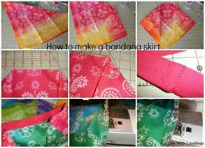 how to make a bandana how to make a bandana skirt with lovebugs