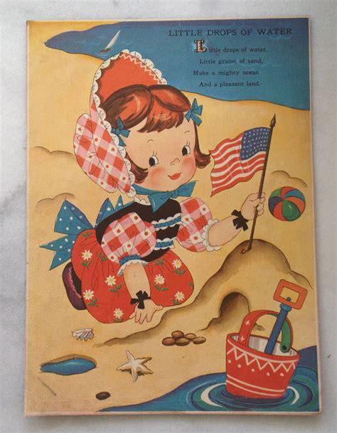 vintage book illustration  merrill publishing company
