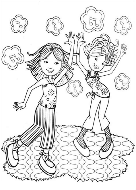 girl writing coloring page groovy girls writing letter coloring pages batch