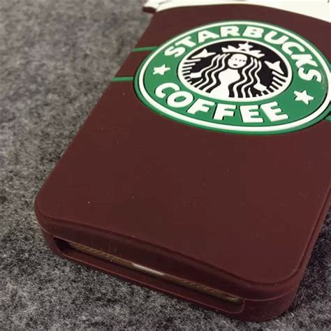 3d Silicone Starbuck Coffee Cup Casing For Iphone 5 5 starbucks 3d silicone coffee cup phone cover for iphone 5s 6plus samsung s6