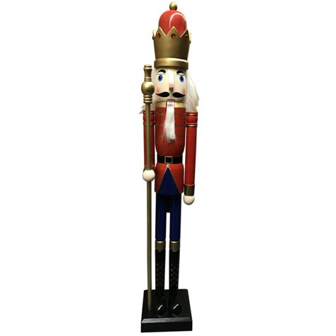 large nutcracker statues large wooden nutcrackers shop collectibles daily