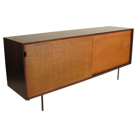 walnut credenza early walnut credenza by florence knoll at 1stdibs