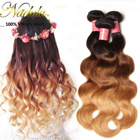ombre braiding hair for sale nadula ombre body wave hair 3 bundles 3 tone color human