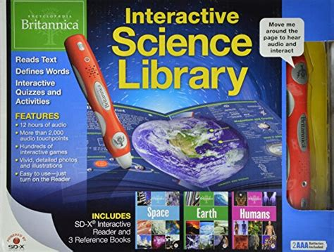 Science Library And Space Edisihardkover encyclopedia britannica interactive science library earth