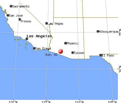 ajo arizona az 85321 profile population maps real