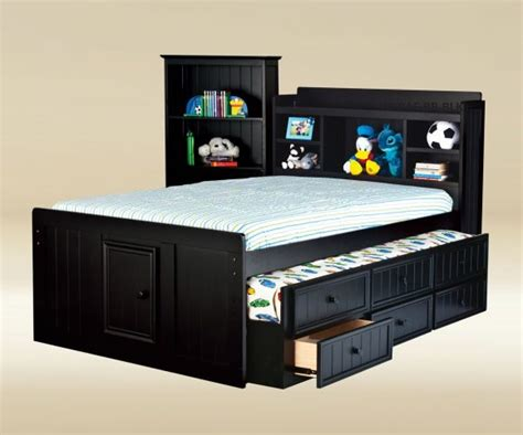 saint laurent youth bedroom set black kids room sets bedroom aluring full size trundle beds is the best choice
