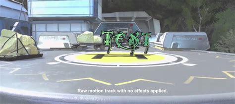 motion track template advanced warfare recovery 3d motion track template 2014