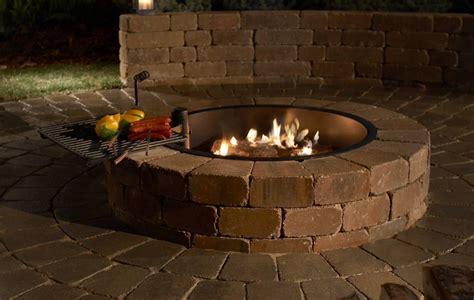 Steel Firepit Ring Steel Pit Ring Liner Pit Design Ideas
