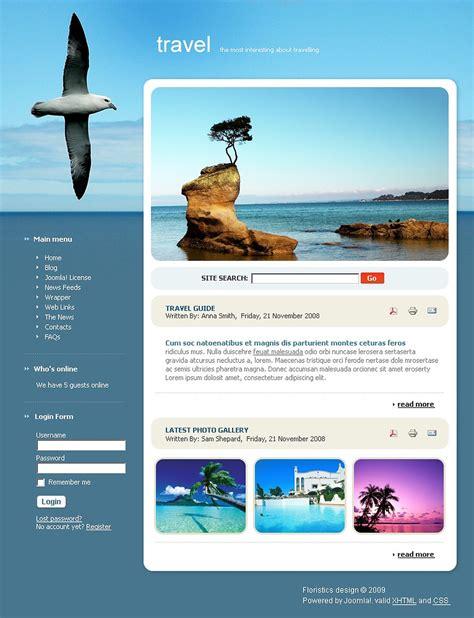 travel joomla template 22877