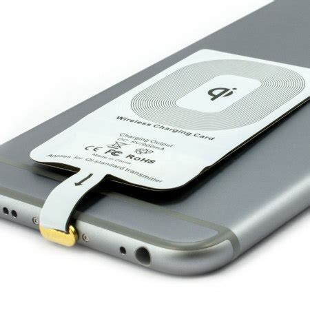 qi case compatible iphone  wireless charging adapter