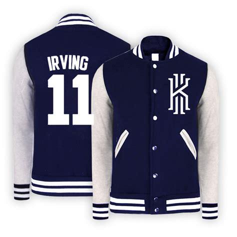 Hoodie Jaket Kyrie Irving Basket Basketball Sweater custom kyrie irving jackets college baseball varsity jacket sweatshirts clothing