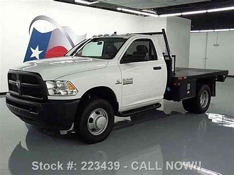 dodge ram 3500 reg cab diesel dually flat bed 2014