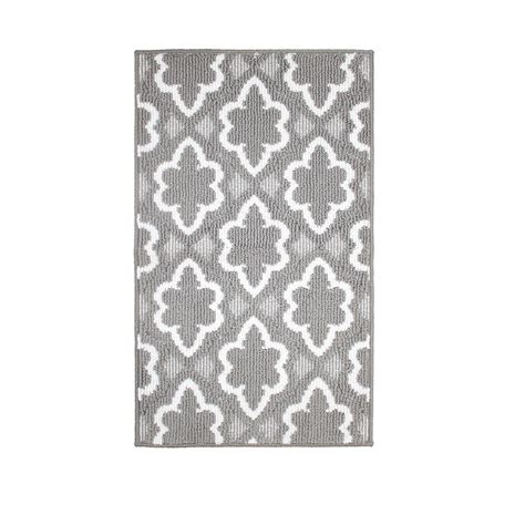 white accent rug jean pierre dashi grey soft white 1 ft 8 in x 2 ft 10