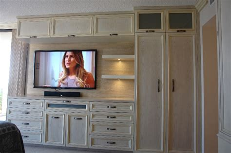 kitchen tv cabinet custom cabinets in south florida