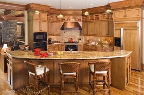 Christensen   Rustic   Kitchen   by ID Studio Interiors