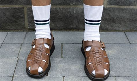 sandals and socks socks and sandals is the worst fashion faux pas uk