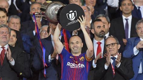 barcelona keluar hasil final copa del rey barcelona juara copa del rey