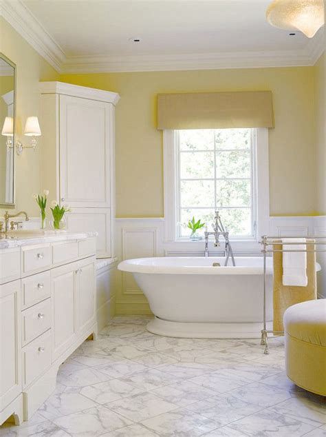 top 25 ideas about yellow bathrooms on yellow walls bedroom yellow paint colors and